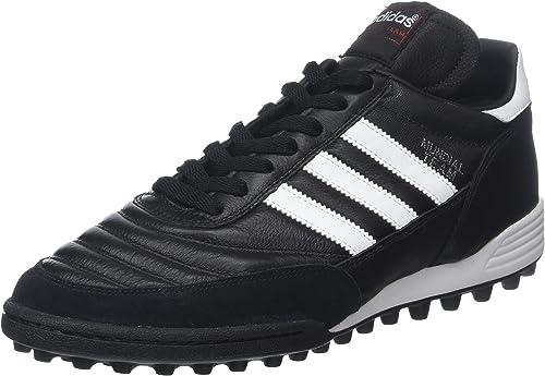 Adidas Originals Mundial Team, Stiefel de fútbol Unisex Adulto, schwarz Running Weiß FTW rot, 42 EU