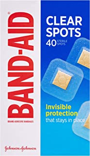 Band-Aid Clear Spots 40s, 0.0089 kilograms