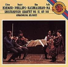 Dmitri Shostakovich: String Quartet No. 15, Op. 144 / Sofia Gubaidulina: Rejoice! for Violin & Cello - Gidon Kremer / Daniel Phillips / Kim Kashkashian / Yo-Yo Ma