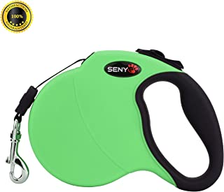 SENYE Retractable Dog Leash,16ft Dog Traction Rope for Large Medium Small Dogs,Break & Lock System