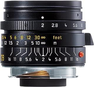 Leica 28mm f/2.0 Aspherical M Manual Focus Lens (11604)