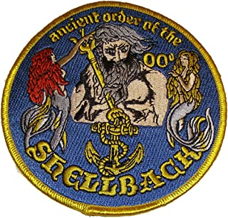 Ancient Order of the Shellback Patch - Veteran Owned Business