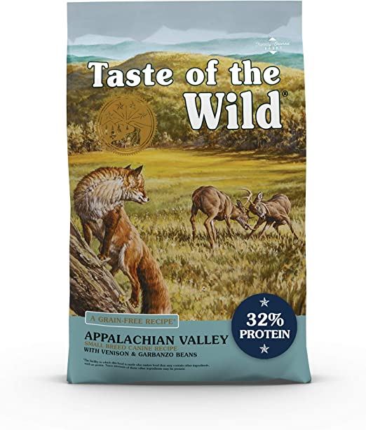 Taste of the Wild Dry Dog Food With Roasted Venison for Small Breeds   Amazon