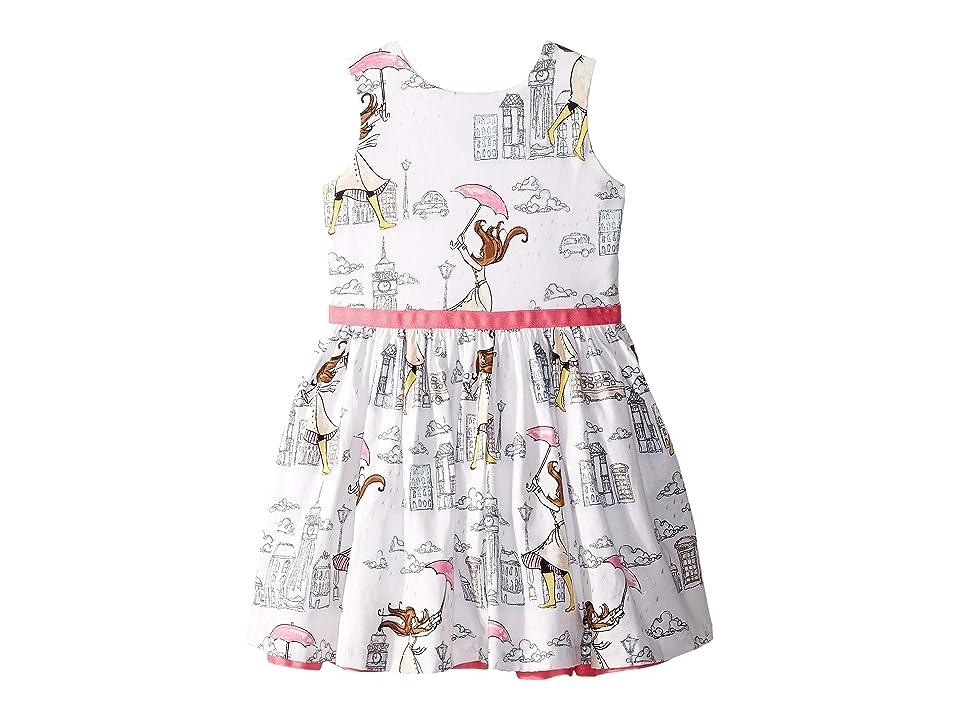 fiveloaves twofish London Girl Party Dress (Toddler/Little Kids/Big Kids) (White) Girl