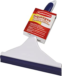 Rubbermaid 1817109 FG6C0800 Comfort Grip Squeegee Cleaning Brush, 1-Pack, White