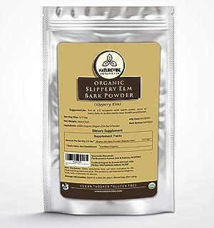 Sponsored Ad - Naturevibe Botanicals Slippery Elm Bark Powder 1lbs | Non-GMO and Gluten Free | Skin Care