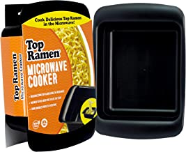 Top Ramen Rapid Cooker | Microwave Ramen in 3 Minutes | Perfect for Dorm, Small Kitchen, or Office | Dishwasher-Safe, Microwaveable, BPA-Free (2 pack)