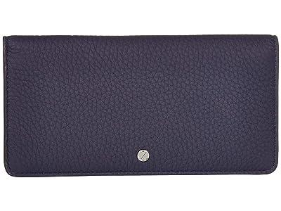 ECCO Jilin Tandem Large Wallet (Night Sky/Titanium Metallic) Wallet Handbags