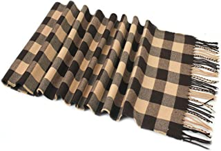 Men's Checkered Pattern Design Fashion Knitted Scarf Scarves Fall/Winter Wrap NEW
