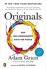 Originals: How Non-Conformists Move the World (English Edition) eBook Kindle