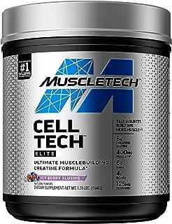 Creatine + BCAA Amino Acids   MuscleTech Cell-Tech Elite Creatine Powder   Creatine Monohydrate + Creatine HCl   Muscle Re...