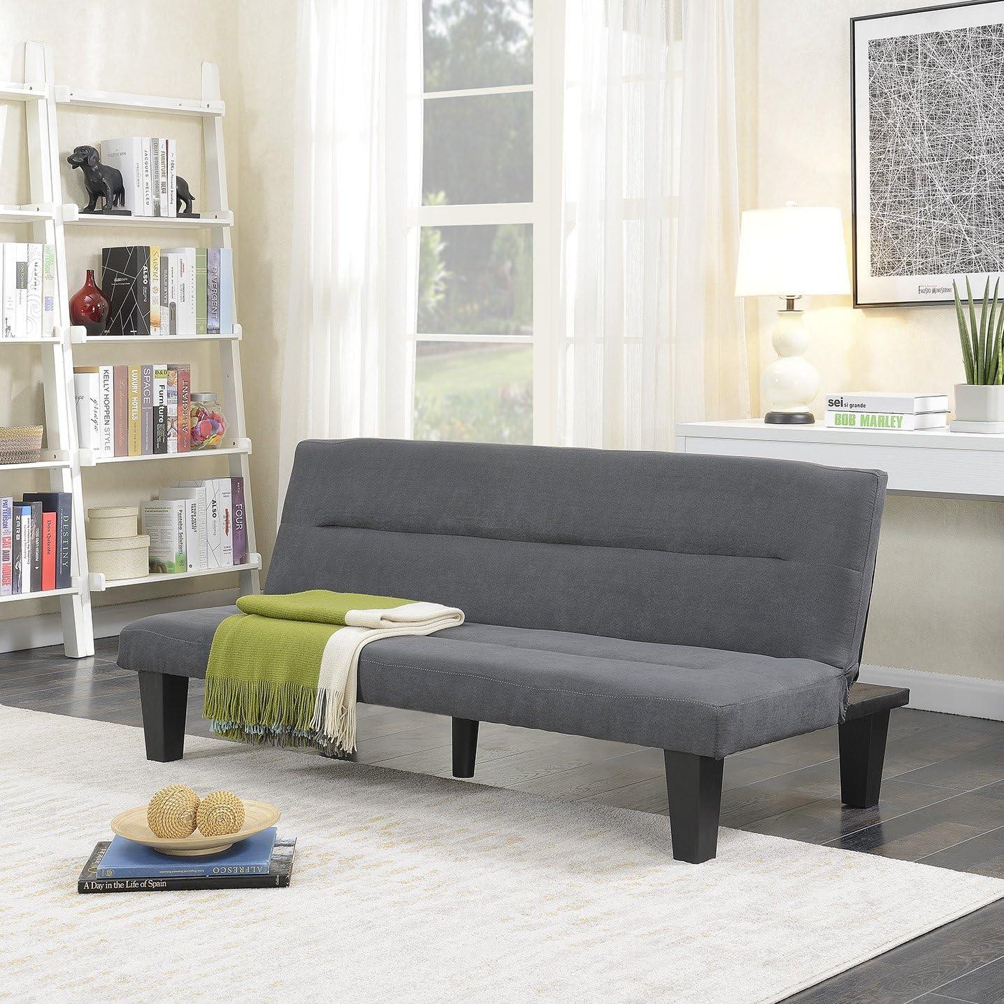 BELLEZE Futon Max 46% OFF Sofa Outlet SALE Bed Furniture Conv Lounger Adjustable Sleeper