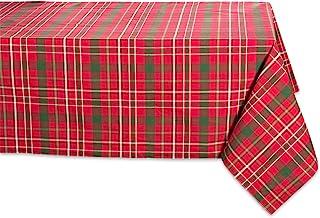 DII Campfire, 100% Cotton, Tartan Holly Plaid, 52x52 Tablecloth
