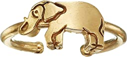 Elephant Adjustable Ring - Precious Metal