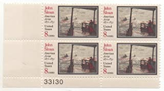 john sloan 8 cent stamp