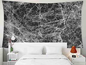 Shorping Home Decor Tapestry, 60x50Inches Home Wall Hanging Tapestries Art for Décor Living Room Dorm Black Mable for Background