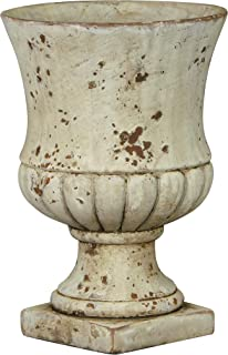 Classic Home and Garden 270001-045-CP2 Remus Urn Set of 2 Planters, Large 2-Pack, Sandstone