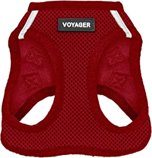 Voyager Step-in Air Dog Harness - All Weather Mesh, Step in Vest Harness for Small and Medium Dogs by Best Pet Supplies, R...