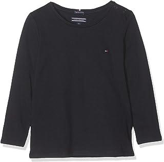 Tommy Hilfiger Girls Basic CN Knit L/S Maglietta Bambina