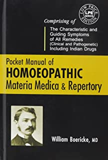 Pocket Manual of Homeopathic Materia Medica and Repertory and a Chapter on Rare and Uncommon Remedies