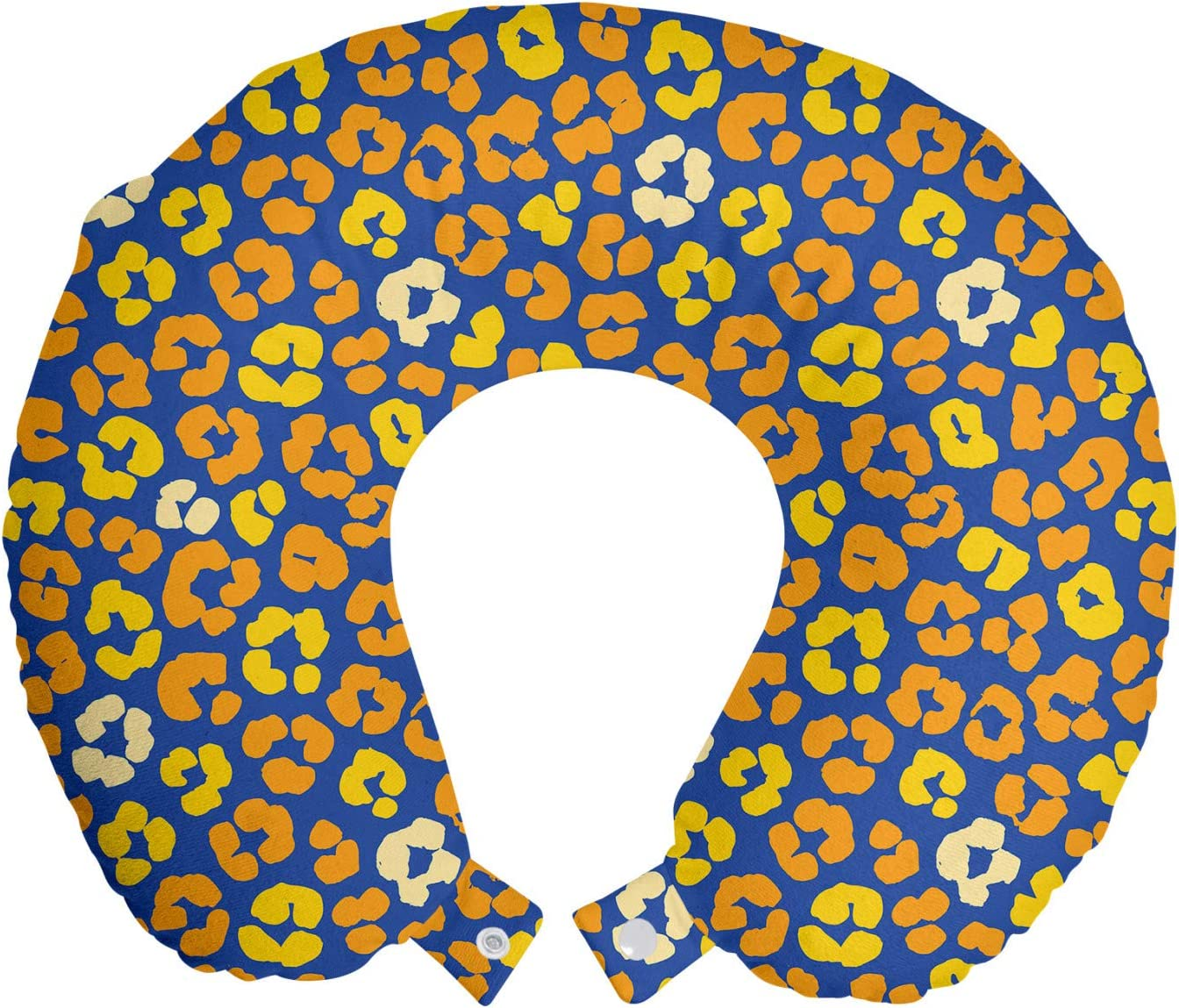 Ambesonne Floral Travel Pillow Neck Colorful Rest New Orleans Fresno Mall Mall Flow Abstract
