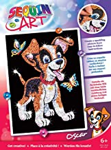 Sequin Art Red, Puppy, Sparkling Arts and Crafts Picture Kit, Creative Crafts