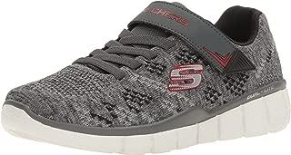 Skechers Kids Equalizer 2.0 Strap Sneaker (Little Kid/Big Kid) Black