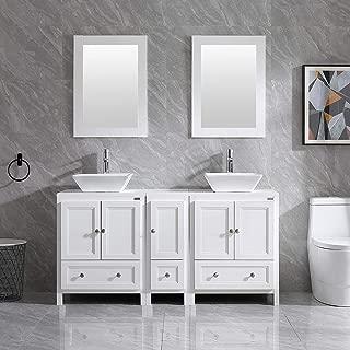 Best double faucet bathroom sink vanity Reviews
