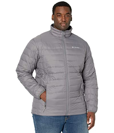 Columbia Big Tall Voodoo Falls 590 TurboDown Jacket (City Grey) Men