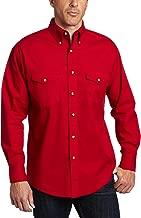 Wrangler Men's Painted Desert Two Pocket Long Sleeve Button Shirt