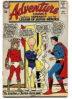 ADVENTURE COMICS #324-comic book SUPERBOY- SUPER-OUTLAWS TIGER