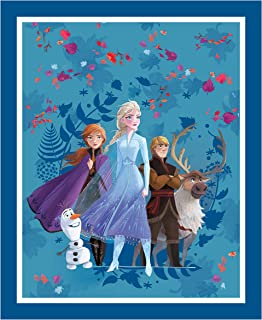 Springs Textiles Disney Frozen 2 Friends Forever 36.5'' Panel Multi Fabric