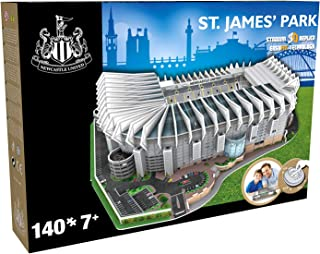 KARACTERMANIA Nanostad, Puzzle 3D Estadio St James' Park Original de Newcastle (3895), Multicolor