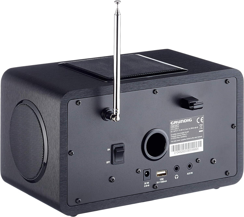 Grundig DTR 5000 X Oak Radios & Radiorekorder Elektronik & Foto ...