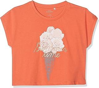 b4c013092 NAME IT Nkfvilma Capsl Crop Top H Camiseta para Niñas