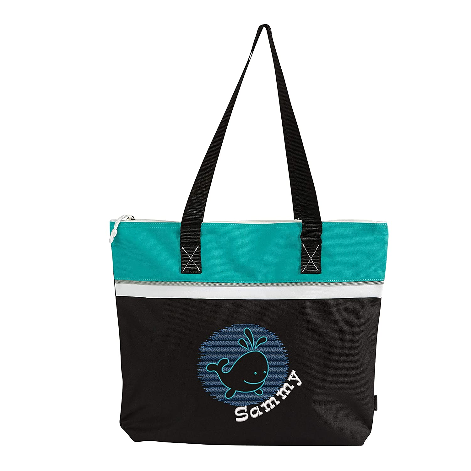 Underwater Whale Personalized Small Embroidered Be super welcome Limited time for free shipping Tote