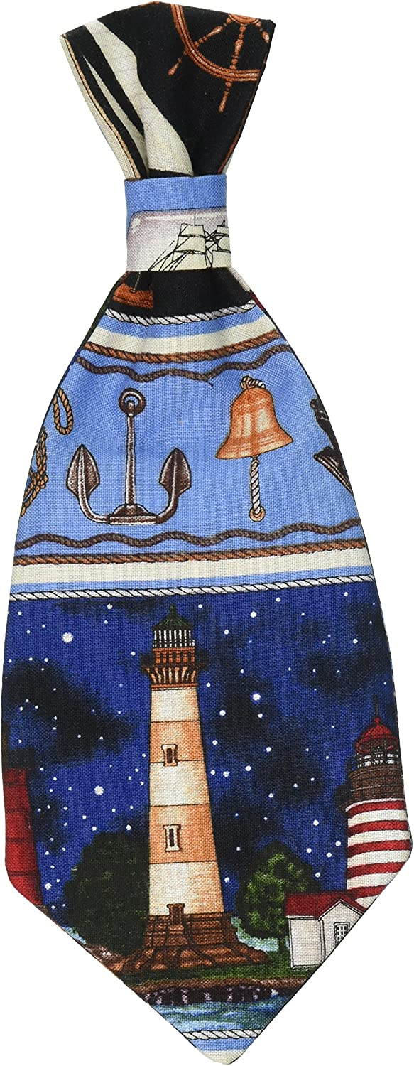 Lighthouses Dog or Cat Tie  Large