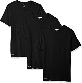 Lacoste Men's Slim Fit Cotton Crew Neck Tee, 3 Pk