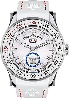[クエルボ・イ・ソブリノス]Cuervo y Sobrinos 腕時計 紳士用 ダイバー 2808-1B メンズ 【正規輸入品】
