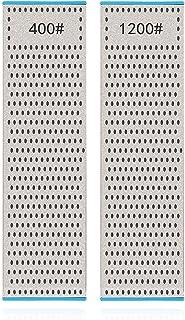 DMD ダイヤモンド両面砥石 修正砥石 面直し用砥石 包丁研ぎ 両面タイプ 荒研ぎ/中研ぎ 砥石台适配【DMD研ぎ工房…… (Tableware)