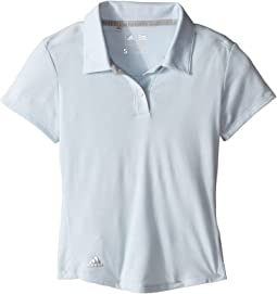 adidas Golf Kids - Climalite Essentials Short Sleeve Heathered Polo (Big Kids)