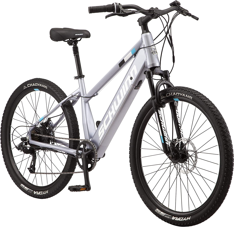 Max 65% OFF Schwinn Amalgam Adult Electric Hybrid Alumi Courier shipping free shipping Bike 17-Inch