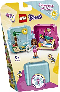 LEGO 41412 Friends Olivia's Summer Play Cube Series 3 Collectible Mini Set Travel Toy