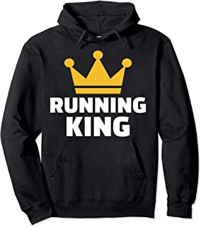 Running king Pullover Hoodie