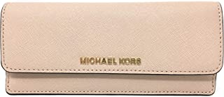 Michael Kors Jet Set Travel Flat Saffiano Leather Wallet