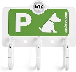 AQUIDOG® F3 Verde para 3 PLAZAS Especial FARMACIAS - Soporte para LA Espera Temporal DE Mascotas Y Perros 2020