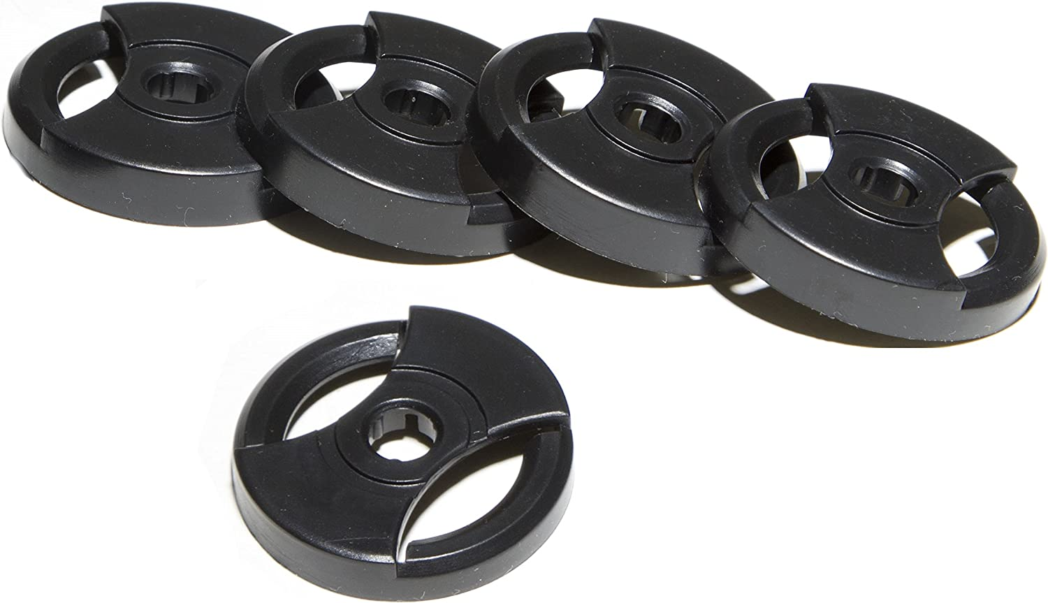 TechPlay Pack of 5, 45 RPM Adapter for 7