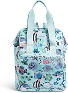 Vera Bradley Women's Recycled Lighten Up Reactive Backpack Cooler Lunch Bag