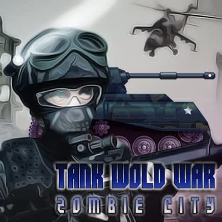 Tank Wold guerra vs cidade de zumbi