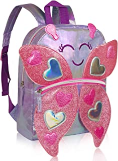 Toddler Backpack, Cute Animals Magic Sparkle Backpack,for 1-6 Years Boys Girls